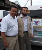 Dale Asis and Murat Kose of the Zakat Foundation