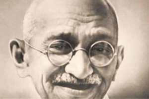 Mahatma Gandhi (October 2, 1869 - January 30, 1948)