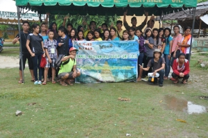 Participants of the 2014 Environmental Youth Camp, Cebu, Philippines