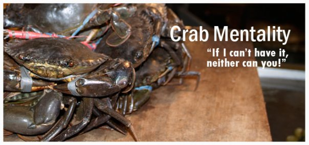 filipino crab mentality essay Crab mentality is a widely used term in the philippines given to filipinos we can  all be guilty of this trait, and here are 10 signs that someone.
