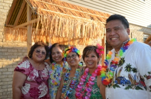 (left to right): Dr. Dorothy Anoina, Eva Torres, Aurora Gagni, Carminda Aldeza and Dale Asis