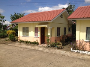 Planned 40 homes in Dingle, Iloilo sponsored by the PFK Family Foundation
