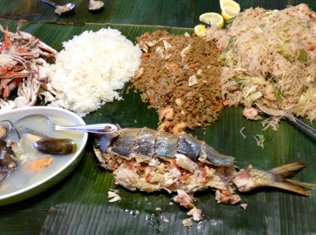 Kamayan (Sumptuous Filipino Feast)