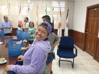 2015 NEXTGEN Fellow Jeselle Santiago joining a workshop at Adamson University in Manila (July 2015)