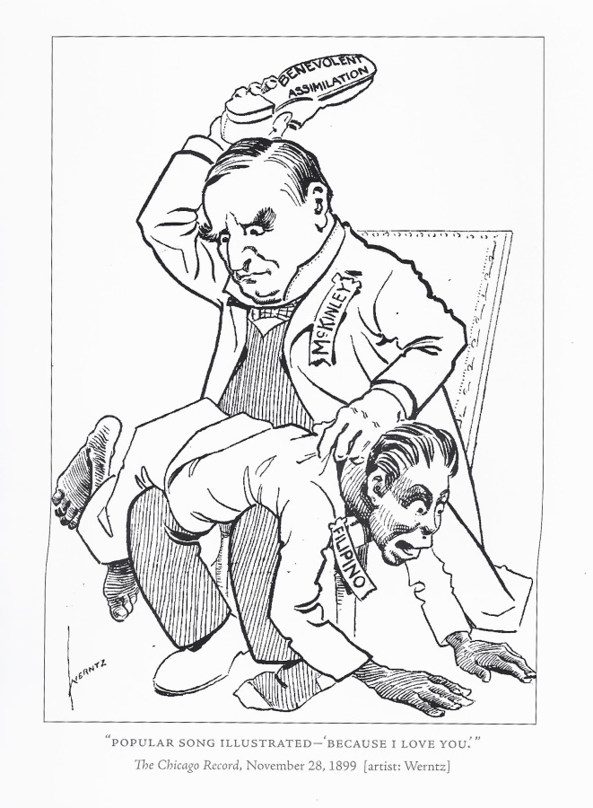 Political Cartoon Philippine American War