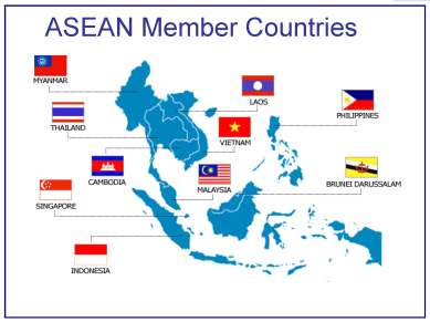 Association of Southeast Asian (ASEAN) member countries (photo courtesy of International Business Review)